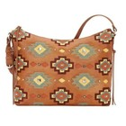 Adobe Allure Zip-Top Shoulder Bag
