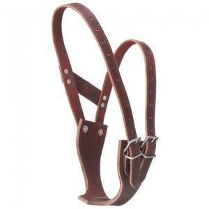 Premium Leather Cribbing Collar