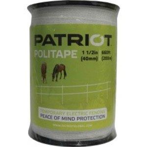 """Patriot 1 1/2"""" Politape 660'"""