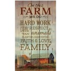 Pallet Art: On This Farm