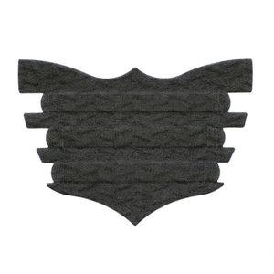 Single Black Flair Strip