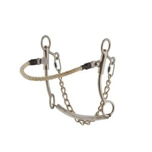 SS w/ Rope Nose Hackamore