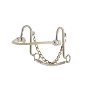Short S w/ Rope Nose Hackamore
