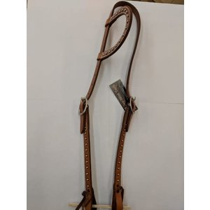 One Ear Headstall w/ Spots