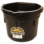 12 Qt Rubber Flatback Bucket