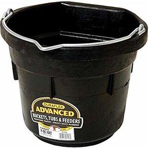 8qt Rubber Flatback Bucket