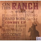 Pallet Art: On This Ranch