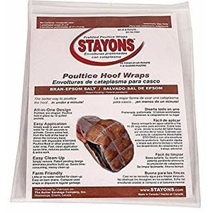 Stayons Poultice Hoof Wraps (Bran/Epsom)