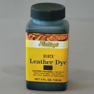 Fiebings Black Leather Dye