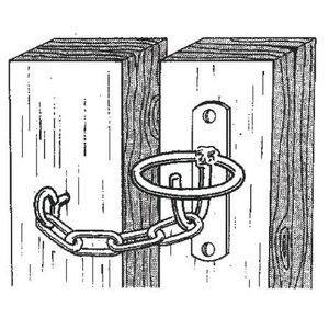 Gate Latch w/ Chain