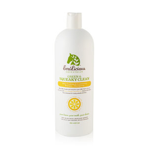 Ecolicious Squeaky Green & Clean Shampoo, 946ml