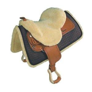 Sheepskin Western Seat Cover