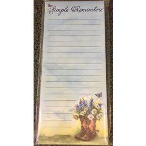 Magnet List Pad