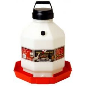 5 Gallon Automatic Plastic Poultry Fount