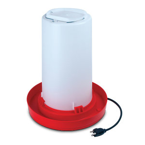 Heated Poultry Fount 3 Gal