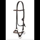 Side Pull Rope Halter (Black&Tan)