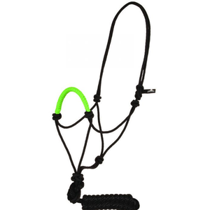 Coloured Nose Rope Halter