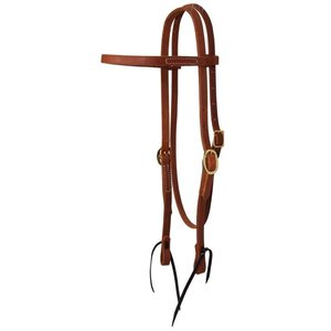 Browband Headstall With Ties