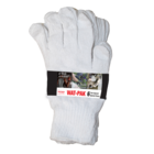 White Cotton Gloves, 6pk
