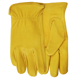 Winter Lined Deerskin Gloves