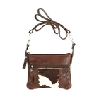 American West Pendleton Pony leather trail rider/hip bag
