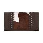 American West Cow Town Ladies' Tri-Fold Wallet