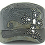 Savana Patch Army Cap w/ Cross
