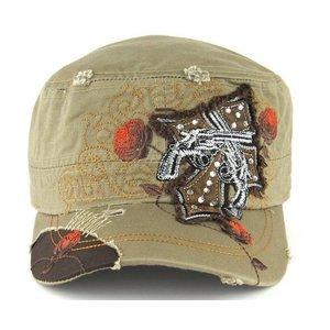 Savana Patch Army Cap w/ Cross