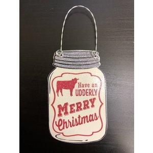 Christmas Mason Jar Ornaments