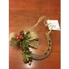 Rustic Christmas Horseshoe