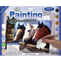 """Large Paint-by-Number """"Three of a Kind"""""""