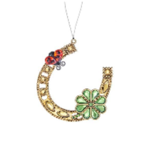 Lucky Horseshoe Ornament