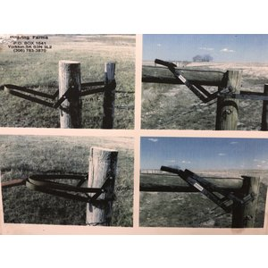 Barbed Wire Fence Latch