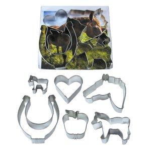 Cookie Cutter Equestrian Set