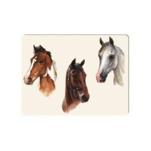 Glass Cutting Board- Horse Portrait