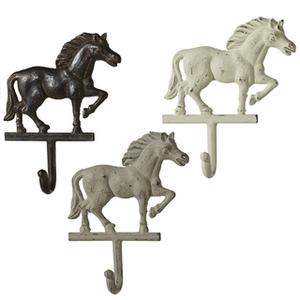 Cast Iron Horse Wall Hooks