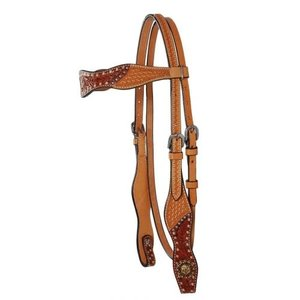 Dee Butterfield Two Toned Brow Headstall