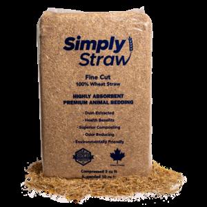 Wheat Straw- Coarse