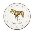 """10"""" Decorative Wall Clock Time For a Ride"""