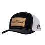 The Chute Boss Cap BK/WH Mesh Back