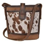 Cowhide Derby Bucket