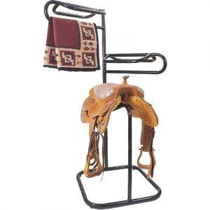 3 Tier Swivel Top Saddle Rack