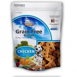Nutrisource GF Biscuits, 14 oz