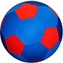 """40"""" Mega Ball Cover - Soccer Ball Blue"""
