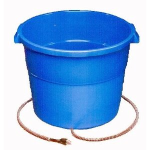 16 Gallon Heated Bucket