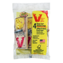 Victor Wooden Mouse Trap - 4 Pack