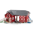 Large Red Barn w/ Animals & Accesories