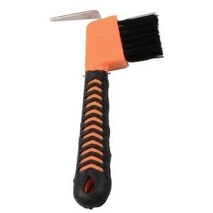 Soft Grip Hoof Pick w/Brush