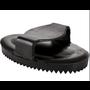 Cavalier LRG  Rubber Curry Comb - Black
