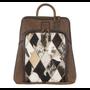 Diamond Cowhide Backpack